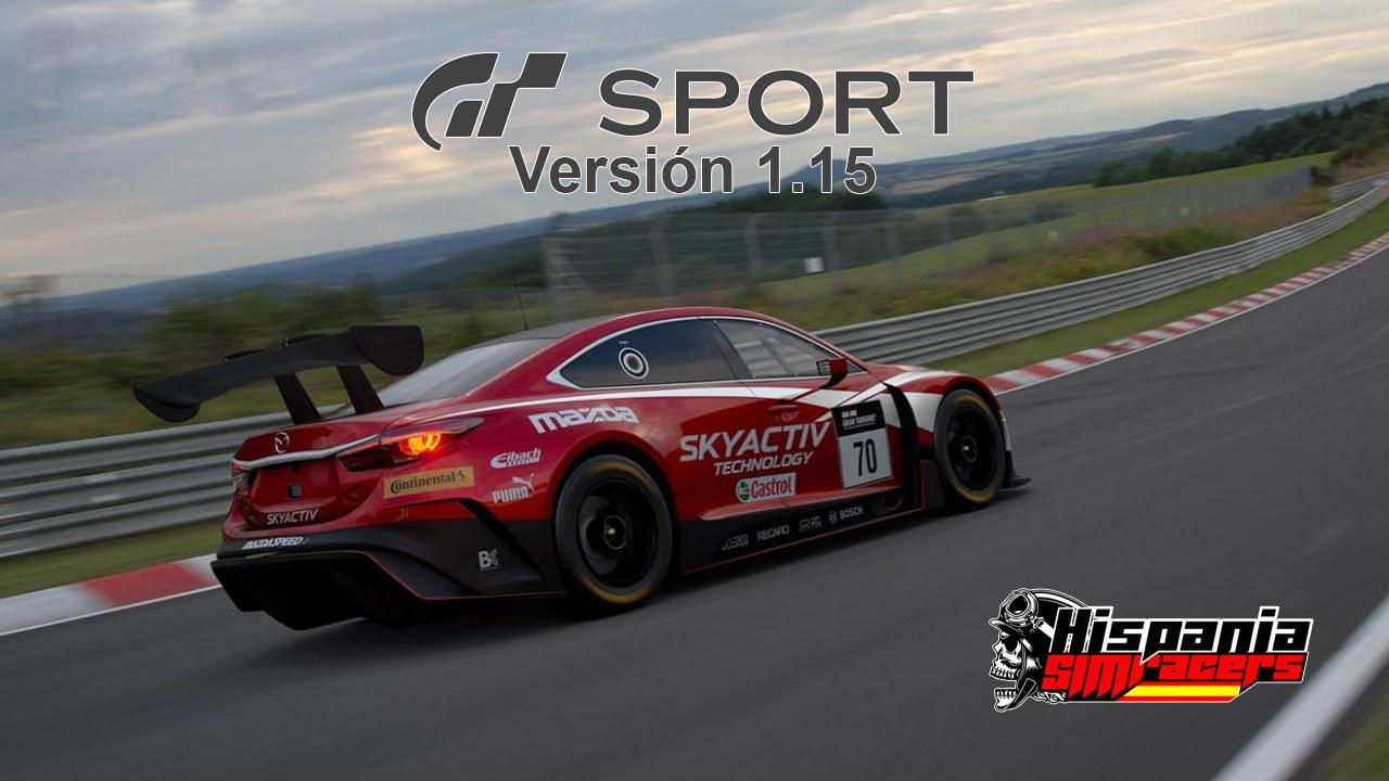 GT Sport - Actualización 1.15