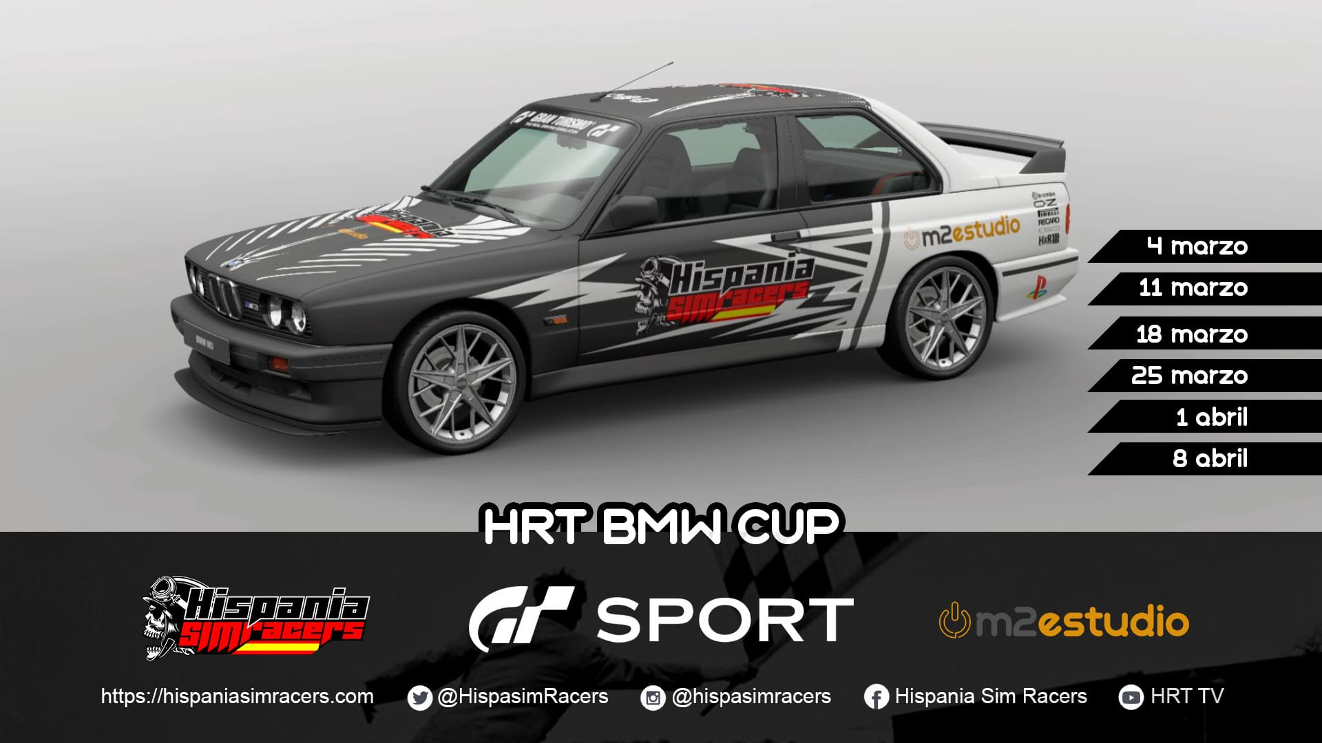 campeonato gt sport – hrt bmw cup